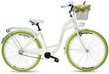 """Goetze, Rower miejski, Rose 28"""", biało-zielony"""