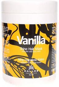 Kallos Professional Vanilla Shine Hair Mask Nabłyszczająca maska waniliowa do włosów KALLOSVANIMASK