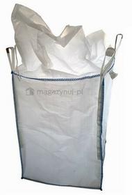 Worek BIG BAG 7. 4 uchwyty, wym. 900x900x1200mm (Ładowność 1000 kg)