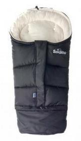Sensillo Śpiworek Do Wózka Combi 3w1 Polar Black/Beige
