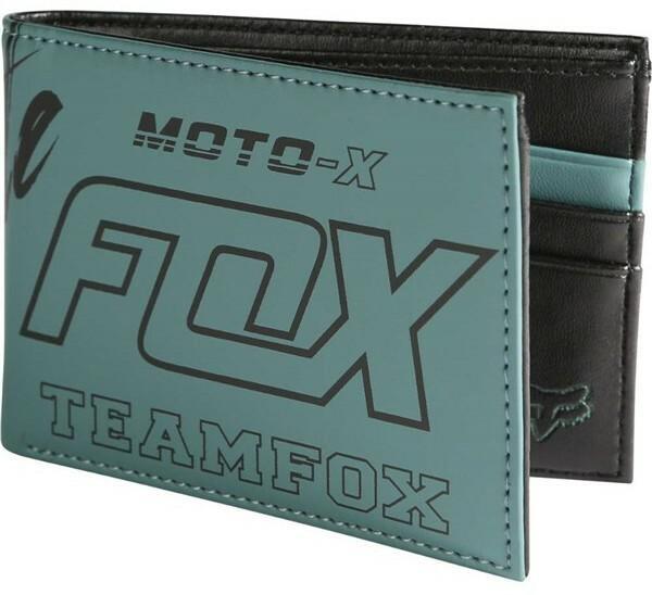 f15b6873687c3 Fox portfel Throttle Wallet Emerald 294) rozmiar OS – ceny