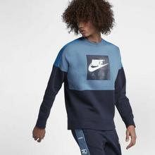 Nike Męska bluza z dzianiny Air - Niebieski 886050-437