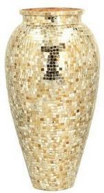 Dekoria Wazon Soho Gold wys 45cm 45cm 000-218