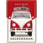 Pocztówka 14x10 Cm Vw Gute Reise