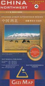 GiziMap China Northwest, 1:2 000 000