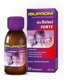 USP Zdrowie Ibuprom dla Dzieci Forte 200mg/5ml zawiesina 100ml