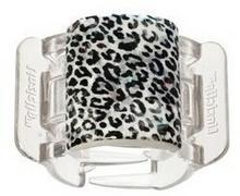 Linziclip Midi Leopard-Clear Klamra do włosów