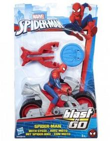 Hasbro Spider-man ścigacz Blast Spider Man with Cycle B9705/B9994