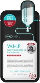 Mediheal W.H.P White Hydrating Black Mask EX 25 ml Czarna maska nawilżająco-wybielająca do twarzy Mediheal