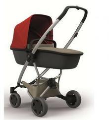 Quinny Wózek głęboko-spacerowy 2w1 Zapp Flex Plus czerwony/beżowy