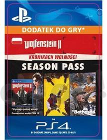 Sony Wolfenstein II The New Colossus season pass [kod aktywacyjny]