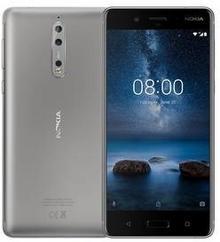 Nokia 8 64GB Srebrny