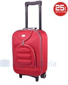 PELLUCCI Mała kabinowa walizka PELLUCCI 801 S - Czerwona - czerwony