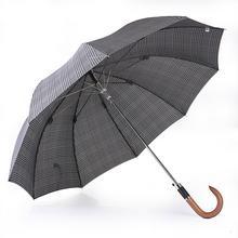 Pierre Cardin Parasol męski, długi - laska, Long AC Figaro Glencheck 80888 Glencheck (Krata Księcia Walii)
