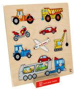 Toy Planet Pojazdy, puzzle E6319