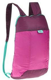 Quechua keczua Ultra kompaktowy składany 10litrów mały wędrówki plecak/plecak na kemping outdoor festiwaleporęczna torba podróżna, różowy 2030547
