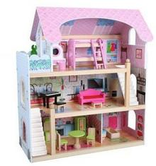EcoToys Ecotoys Eco Toys  Domek Dla Lalek Rezydencja Bajkowa 4110