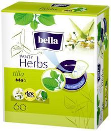 Bella BELLA Herbs Tilia wkładki higieniczne 60 szt + BELLA chusteczki do demakijażu 30 szt