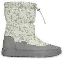 Crocs Śniegowce Lodge Point Pull On Boot Nylon Oyster 37 38 W7)
