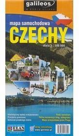 Plan Czechy mapa samochodowa 1:500 000 Plan