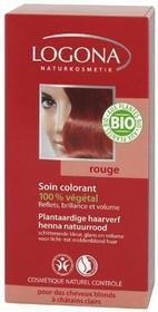 LOGONA Naturkosmetik roślin do włosów z proszku kolorzeHenna-naturalny czerwony 1009rou