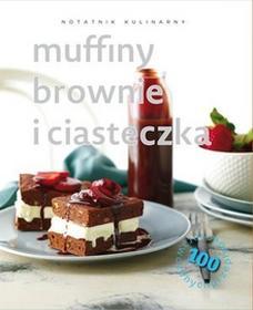 Olesiejuk Sp. z o.o. Notatnik kulinarny Muffiny, brownie i ciasteczka - Carla Bardi