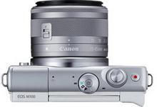 Canon EOS M100 + 15-45 IS STM biały