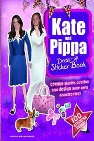 Carlton Books Kate & Pippa Middleton Dress-up Sticker Book