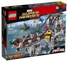 LEGO Super Heroe Spiderman Pajęczy wojownik 76057