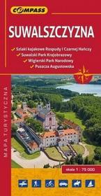Wydawnictwo Compass praca zbiorowa Suwalszczyzna. Mapa turystyczna w skali 1:75 000