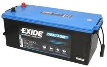 Exide DUAL AGM EP1500 180Ah 900A L+