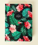 Kalendarz książkowy 2020, Flower Power Hibiskus