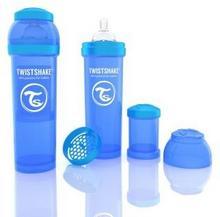 Twistshake Butelka antykolkowa, niebieska 330ml 7350083120144