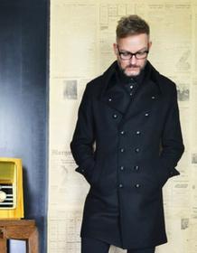 Lee reykjavik district Płaszcz Coat Black