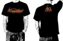 Raggafaya R czarna koszulka męska
