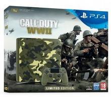 Sony PlayStation 4 Slim 1TB Green Camo + Call of Duty WWII + To jesteś Ty