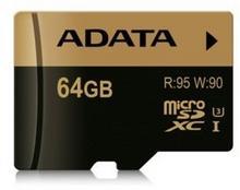 A-Data microSD XPG 64GB + adapter