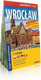 ExpressMap praca zbiorowa comfort! map Wrocław. Laminowany, kieszonkowy plan miasta 1:18 000