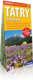 ExpressMap praca zbiorowa comfort! map&guide XL Tatry i Zakopane 2w1. Laminowany map&guide XL 1:235 000