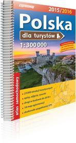 ExpressMap praca zbiorowa Polska dla turystów. Atlas samochodowy 1:300 000