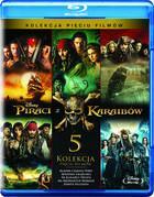 Piraci z Karaibów Pakiet 5 filmów Blu-Ray