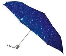 Impliva Parasolka damska mała z kroplami wody składana MiniMax ZLF-116-R