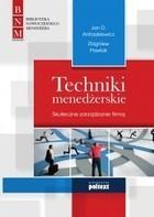 Techniki menedżerskie Zbigniew Pawlak