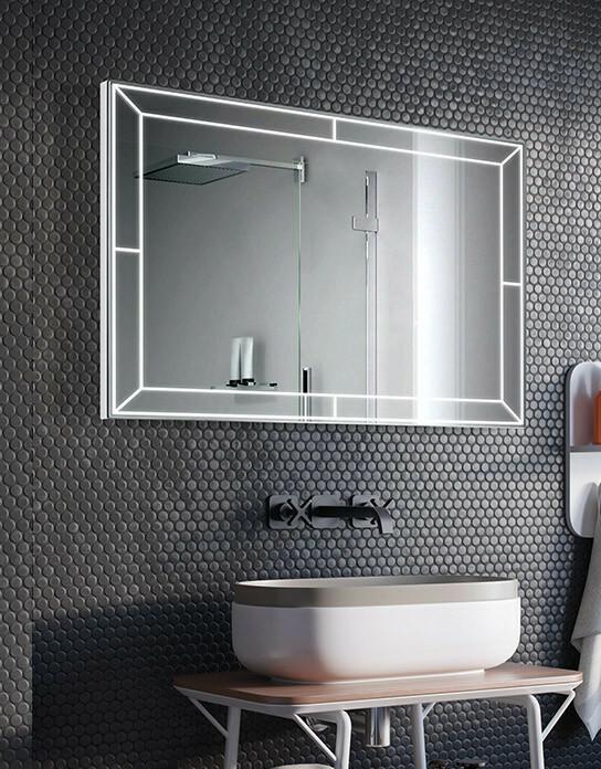 Lustro łazienkowe Futuro Led Z Oświetleniem Led Ceny I Opinie Na