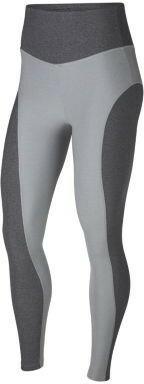 Nike Damskie legginsy treningowe Power Studio - Szary 933430-012