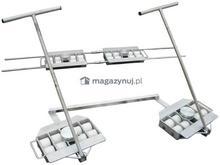 WIZ Wózki Zestaw transportowy 20T, rolki poliamidowe