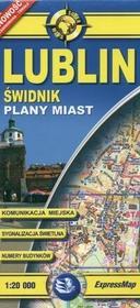 Lublin świdnik plany miast 1:20 000 / wysyłka w 24h