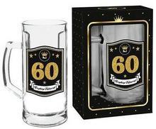 """Pigmejka GOLD Kufel do piwa, 500 ml """"60"""""""