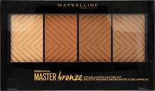 Maybelline Maybelline Master Bronze Paleta Bronzerów do Twarzy MAY-8684