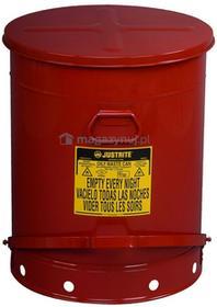 Topserw Stalowy pojemnik zabezpieczający na odpady olejowe - 80L